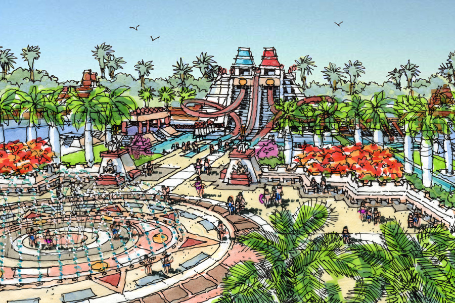 Aztec Mystery Waterpark